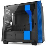 NZXT H400 Black/Blue Mid Tower Gaming PC Case