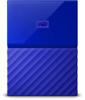 WD My Passport 2TB Portable Hard Drive - Blue
