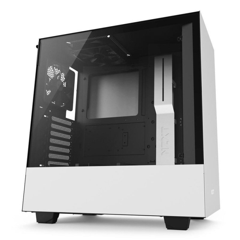 NZXT H500 White Mid Tower Gaming PC Case