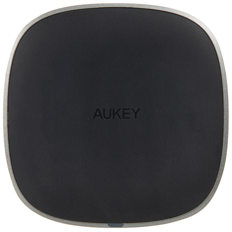 Image of Aukey Graphite Wireless Charger
