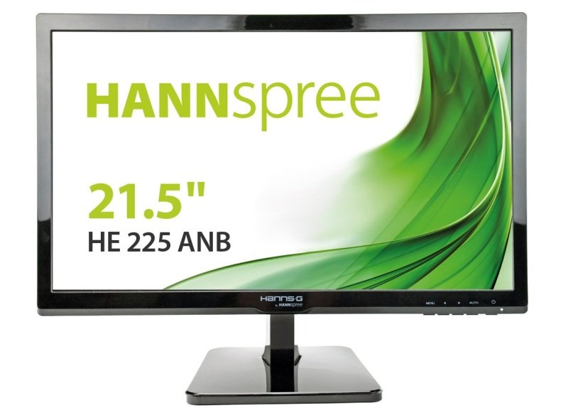 """HannsG HE225ANB 21.5"""" LED VGA Monitor"""