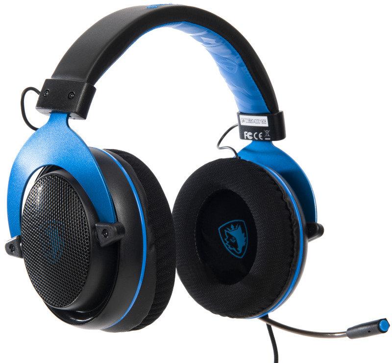 SADES Spirit Multi-Platform Gaming Headset Blue