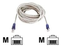 Belkin Hi-Speed Internet Modem Cable RJ11M-M (Transparent), 1.8m