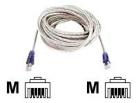 Belkin Hi-Speed Internet Modem Cable RJ11M-M (Transparent), 1.8m