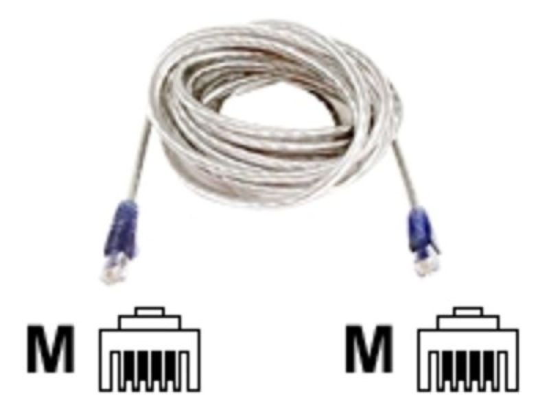 Belkin HiSpeed Internet Modem Cable RJ11MM (Transparent) 1.8m