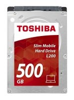 "Toshiba 500GB L200 2.5"" 7mm Slim Mobile Hard Drive"