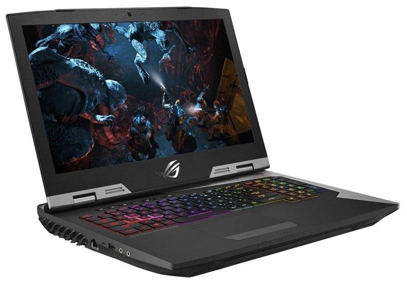 """ASUS ROG G703GI Gaming Laptop, Intel Core i7-8750H 2.2GHz, 32GB RAM, 1TB HDD, 256GB SSD, 17.3"""" Full HD, No-DVD, NVIDIA GTX 1080 8GB, WIFI, Windows 10 Pro"""