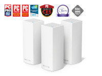 Linksys AC6600 Velop Whole Home Intelligent Mesh Wi-Fi System Tri-Band - 3 PACK