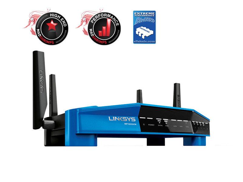 Linksys WRT AC3200 Dual-Band MU-MIMO Router