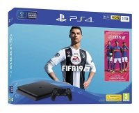 Sony 1TB Black PS4 with Fifa 19