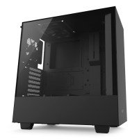 NZXT H500 Black Mid Tower Gaming PC Case