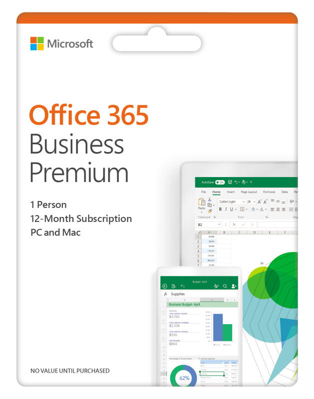 Office 365 Business Premium 1 Year Subscription