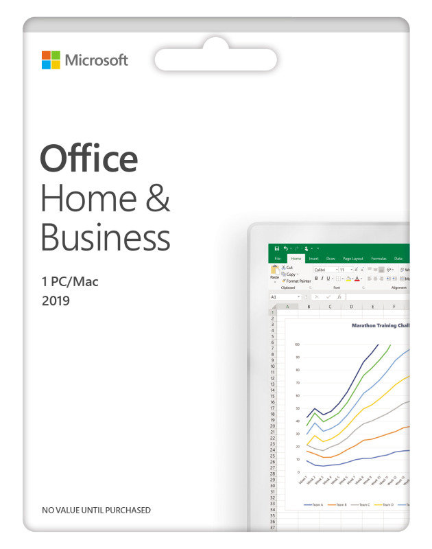 Office Home and Business 2019 Medialess