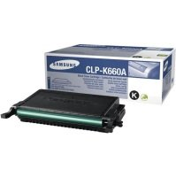 Samsung CLP-K660A Standard Yield Black Toner Cartridge