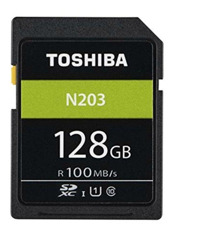 Toshiba 128GB N203 Class 10 SD Card