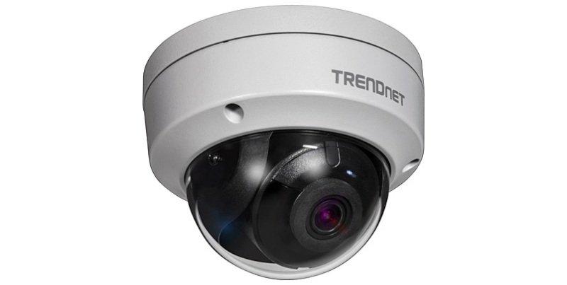 TRENDnet TV-IP327PI Indoor/Outdoor 2MP H.265 WDR PoE IR Dome Network Camera