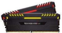 Corsair VENGEANCE RGB 16GB (2 x 8GB) DDR4 DRAM 3600MHz C18 Memory Kit