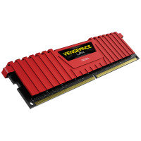 Corsair Vengeance LPX 16GB (4 x 4GB) DDR4 DRAM 3866MHz C18 Memory Kit - Red