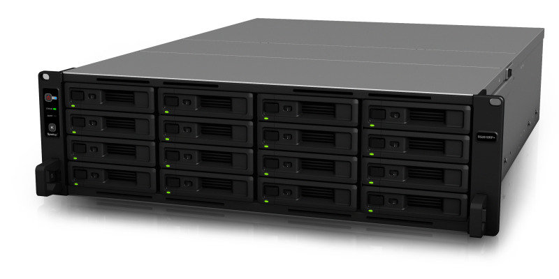 Synology RS2818RP+ 128TB (16 x 8TB WD RED PRO) 16 Bay NAS Rack Unit