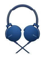 Sony Over Ear Headphones Blue 1.2m Cord