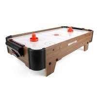 Power Play TY5898DB Table Top Air Hockey Game, 27 Inch