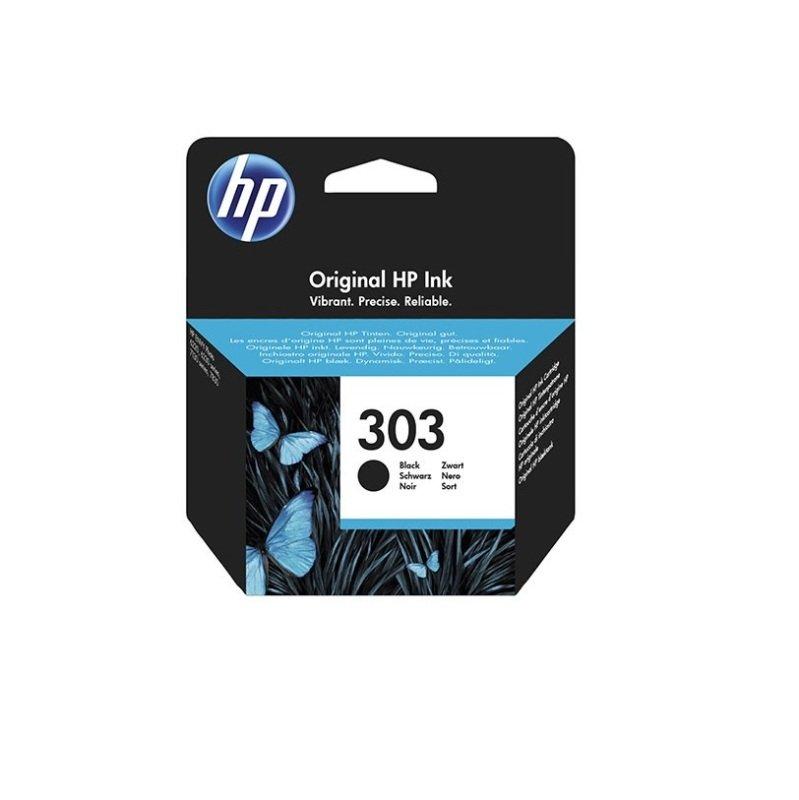HP 303 Black OriginalInk Cartridge - Standard Yield 200 Pages - T6N02AE