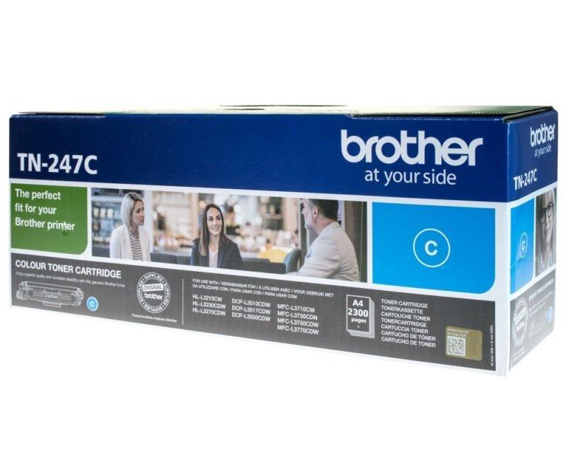 Brother TN247C High Yield Cyan Toner Cartridge