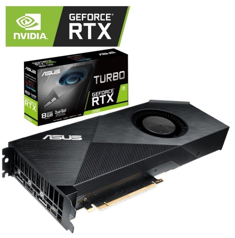 Asus GeForce RTX 2080 TURBO 8GB Graphics Card