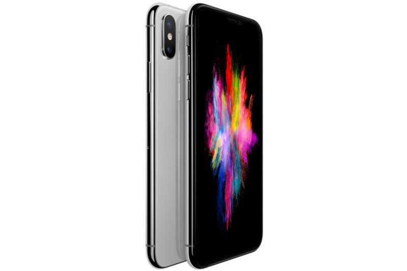 "iPhone XS Silver 5.8"" 64GB 4G Unlocked & SIM Free"