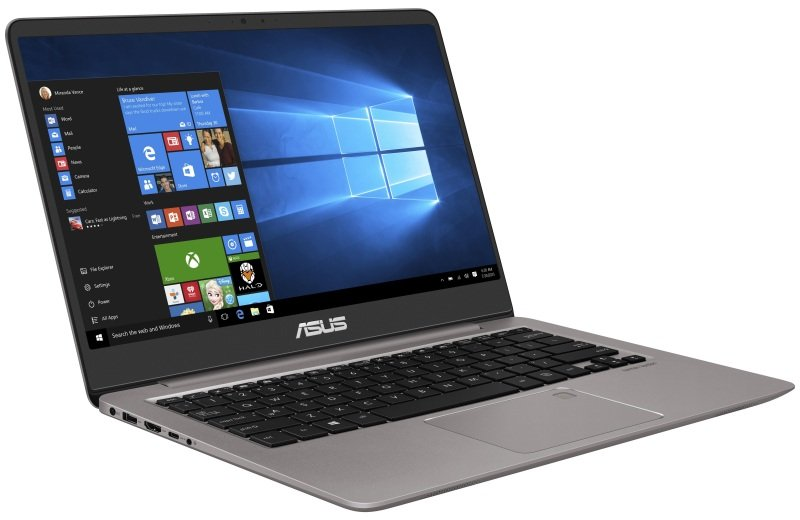 "ASUS ZenBook UX410UA GV544T Intel Core i3, 14"", 4GB RAM, 256GB SSD, Windows 10, Notebook - Gray"