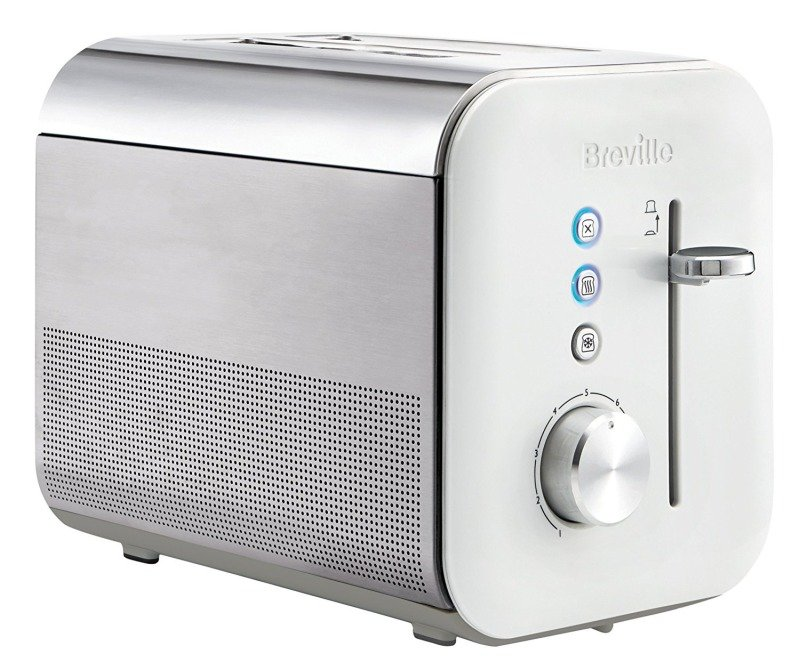 Breville VTT686 2 Slice High Gloss Toaster White