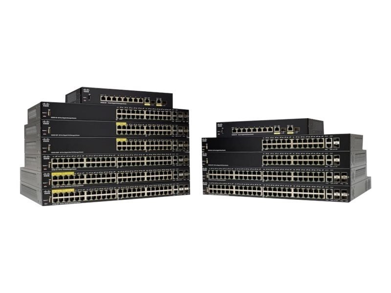 Cisco 250 Series SG250-08HP - Switch - 8 Ports - Smart - Rack-mountable