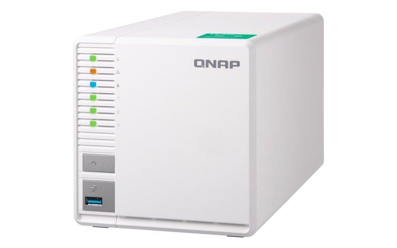 QNAP TS-328 12TB (3 x 4TB WD RED) 3 Bay Desktop NAS Unit