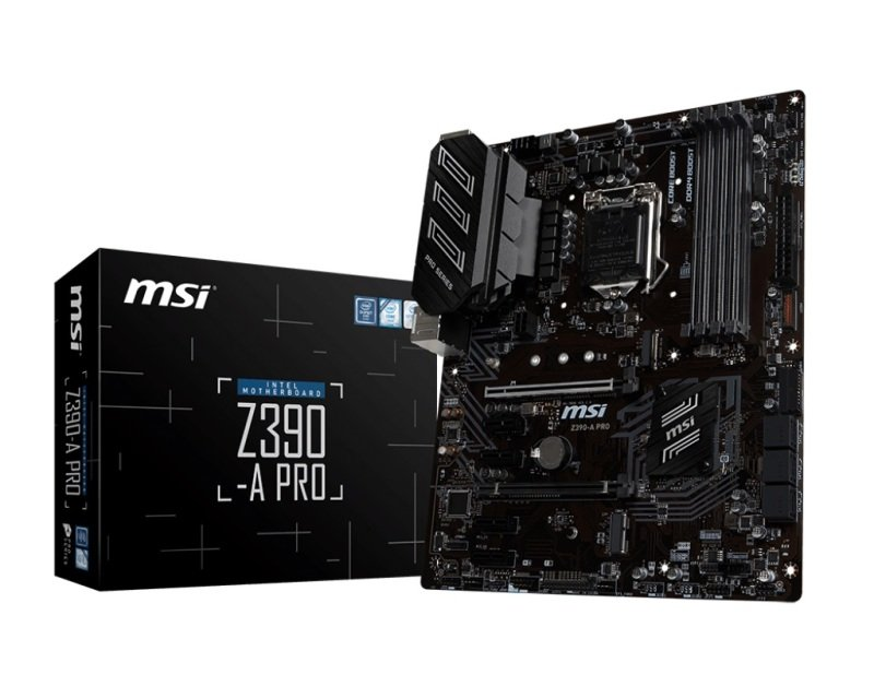 MSI Z390-A PRO 1151 DDR4 ATX Motherboard