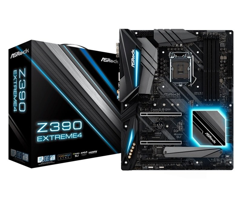 ASRock Z390 Extreme4 1151 DDR4 ATX Motherboard