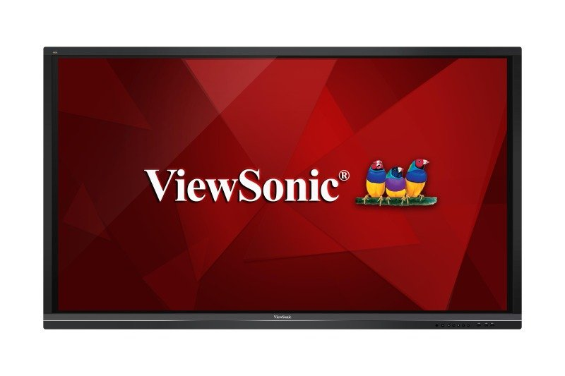 "Viewsonic IFP7550 75"" 4K UHD 20 Point Multi Touch Flat Panel"