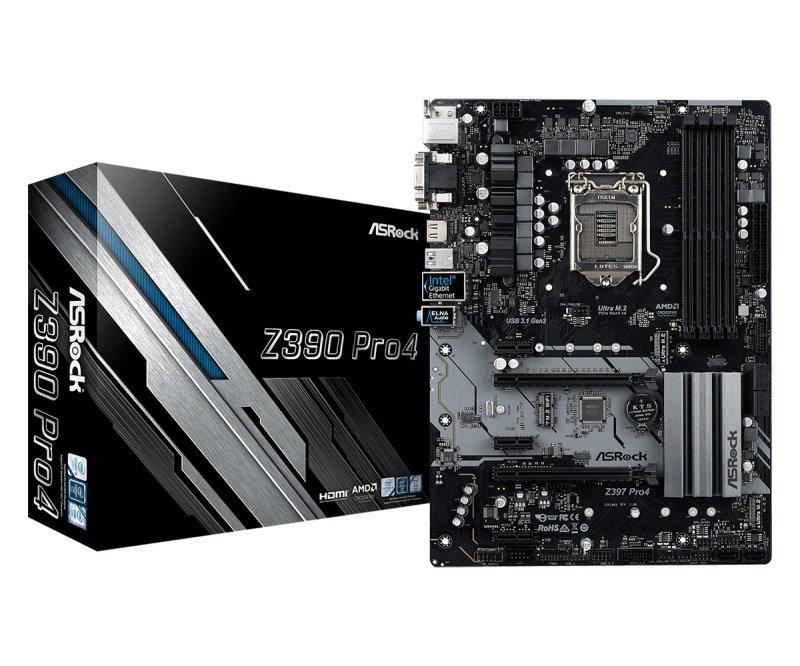 ASRock Z390 Pro4 LGA 1151 DDR4 ATX Motherboard