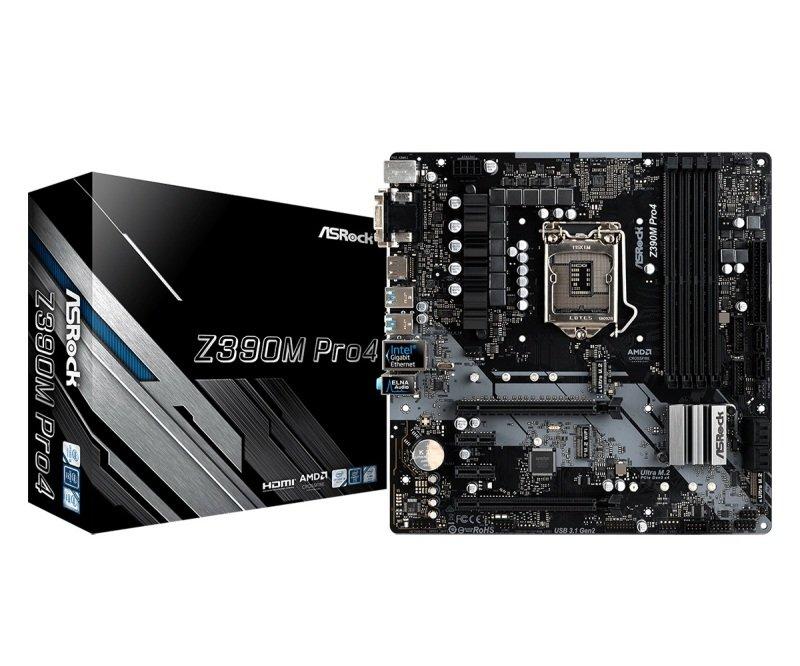 ASRock Z390M Pro4 LGA 1151 DDR4 mATX Motherboard
