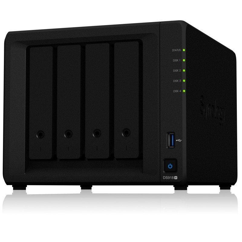 EXDISPLAY Synology DS918+ 4 Bay Desktop NAS Enclosure