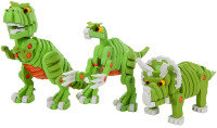 Dinosaur Puzzle, Foam Block Set - 200 Pieces