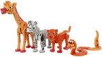 Animal World Puzzle, Foam Block Set - 350 Pieces