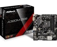 ASRock A320M-DGS AM4 DDR4 mATX Motherboard