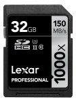 Lexar Professional 1000x 32GB UHS-2 Class 10 SD Card