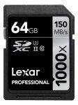 Lexar Professional 1000x 64GB UHS-2 Class 10 SD Card