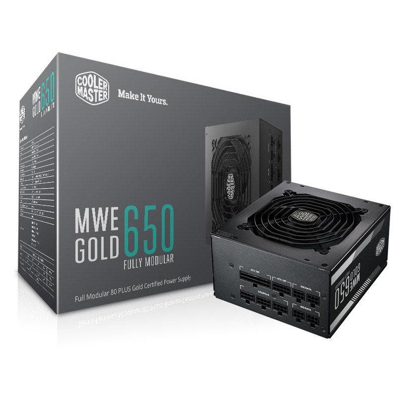 Coolermaster MWE Gold 650 Fully Modular Power Supply