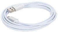Xenta USB A to USB C Cable White 2m