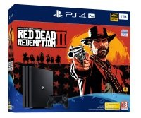 Sony 1TB Black PS4 Pro with Red Dead Redemption 2