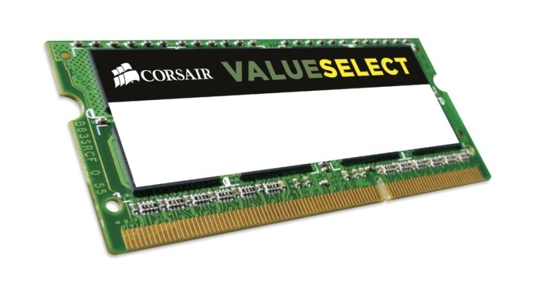 Corsair 16GB 2x8GB kit DDR3L 1600MHz SODIMM Memory