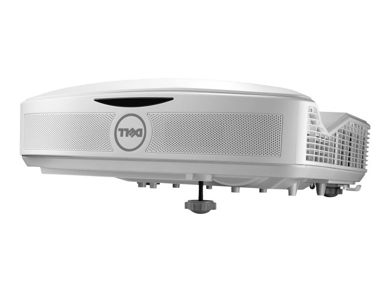 Dell S560T Interactive DLP Projector, UST Ultra Short Throw, 3400 ANSI lumens, 1920 x 1080, 16:9 Full HD 1080p, 2 x HDMI, VGA, RJ-45, RS-232, USB Type A, mini-USB Type B, Throw Ratio 0.25:1, SKU 210-AITF