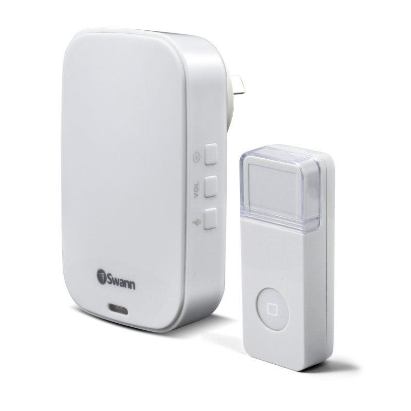 Swann Wireless Home Doorbell Kit with Plug-in Chime Unit